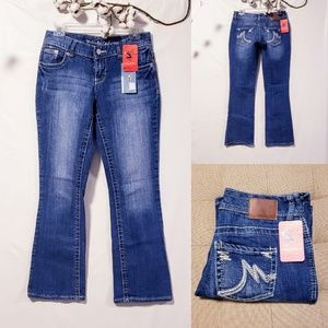 Maurices Bootcut Jeans size 1/2 Short🆕💋
